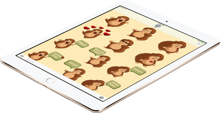 Actio Stickers (iMessage only for iPhone/iPad)